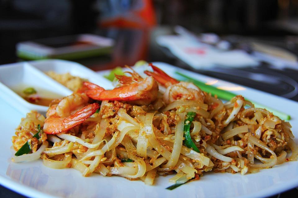 A culinária tailandesa é rica em sabores e texturas