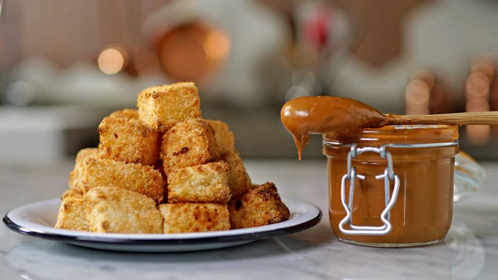 As opções de finger foods com dadinhos de tapioca fazem muito sucesso!