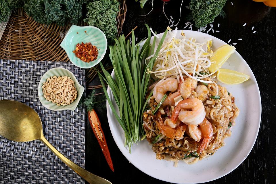 O Pad Thai é um dos pratos tailandeses mais tradicionais